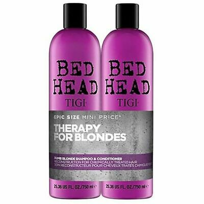Tigi Bed Head Dumb Blonde Shampoo and Conditioner 750mL Duo Pack