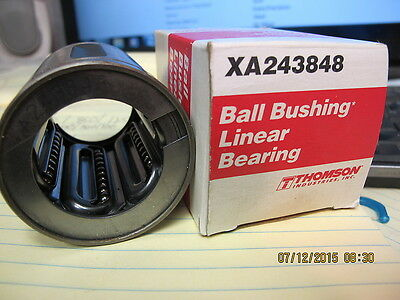 "Thomson - (XA243848), 1.5"" Closed Round Rail Ball Bushing, Leaner Bearing Extra"