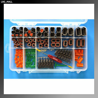 416 PCS DEUTSCH DT Genuine Connector Kit + Removal Tools, USA