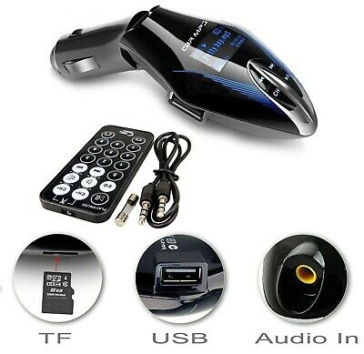 In car wireless MP3 FM radio transmitter for iPhone 5 6 iPod 5 Samsung S3 S4 HTC