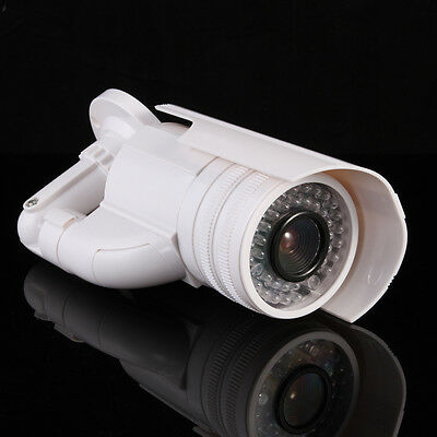 Fake Dummy Outdoor Waterproof Security Surveillance LED Flash Light Camera CCTV