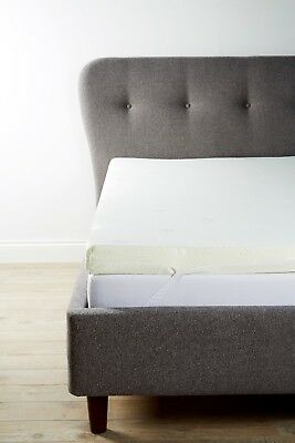 """Memory Foam Mattress Topper   3ft, 4ft, 4ft6, 5ft   1"""", 2"""", 3"""", 4""""   With Cover"""