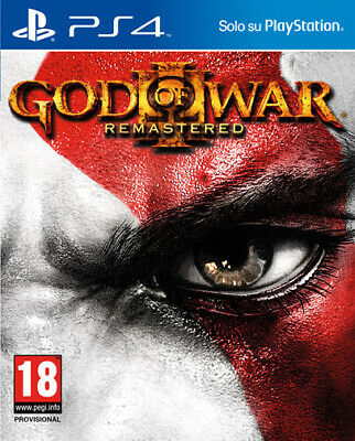 God Of War 3 Remastered PS4 Playstation 4 SONY COMPUTER ENTERTAINMENT