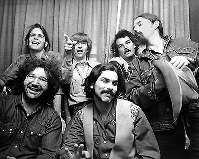 Grateful Dead Jerry Garica Rock Group Band 8X10 Photo Picture