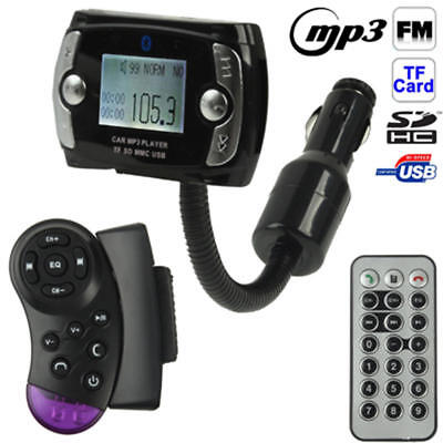 Bluetooth LCD Car Kit MP3 Player FM Transmitter Modulator USB Wireless Remote