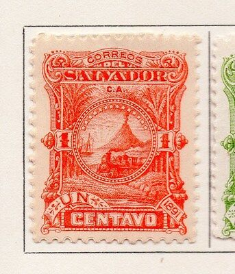 Salvador 1891 Early Issue Fine Mint Hinged 1c. 153836