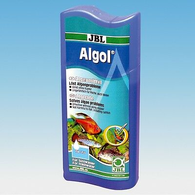 JBL Algol 100ml (algaecide eliminates problem brown green hair etc remove clear)