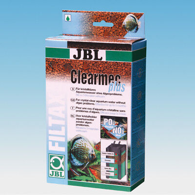 JBL Clearmec Plus 600ml (chemical filter media remove phosphates nitrates algae)