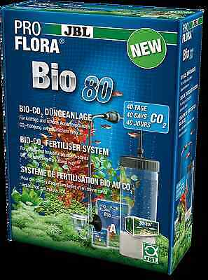 JBL ProFlora Bio80 - co2 System pro flora carbon aquarium fertiliser bio 80