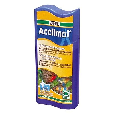 JBL Acclimol 250ml (acclimatise fish reduce stress transport prevent diseases)