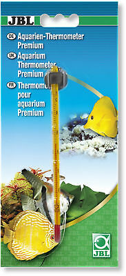 JBL Premium Thermometer (glass temperature thin slim display fish aquarium tank)