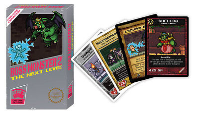 Boss Monster 2 Dungeon The Next Level Building Board Game Brotherwise Games