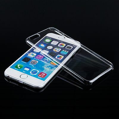 """5 pcs Crystal Clear Hard Plastic Thin Transparent Case Cover for iPhone 6 (4.7"""")"""