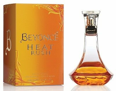Beyonce Heat Rush 100Ml Eau De Toilette Spray Brand New & Sealed *
