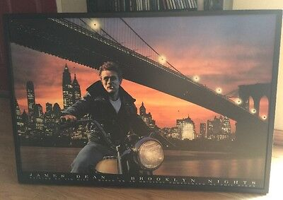 James Dean LED Brooklyn Nights Picture Frame