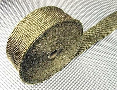 Premium Exhaust Heat Wrap 50mm 2 x 5m roll rated to 649�C Race Car Motorbike""