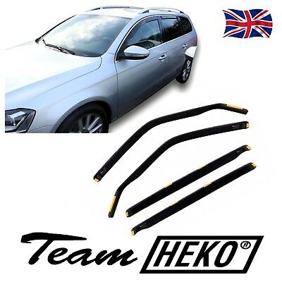 DVW31170  VW PASSAT B6 B7 ESTATE 2005-2014 WIND DEFLECTORS 4pc HEKO TINTED