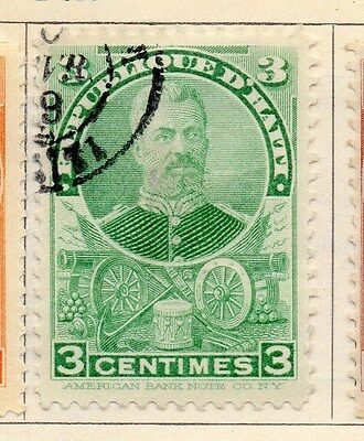 Haiti 1898 Early Issue Fine Used 3c. 154227