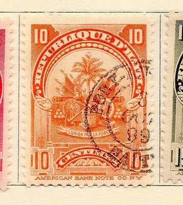 Haiti 1898-1900 Early Issue Fine Used 10c. 154258