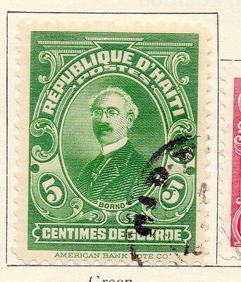 Haiti 1924 Early Issue Fine Used 5c. 154399