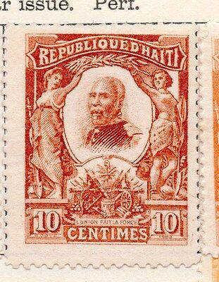 Haiti 1904 Early Issue Fine Mint Hinged 10c. 154288