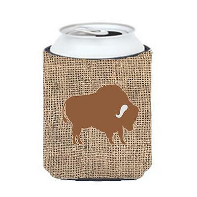 Carolines Treasures Buffalo Burlap And Brown Can Or Bottle Hugger
