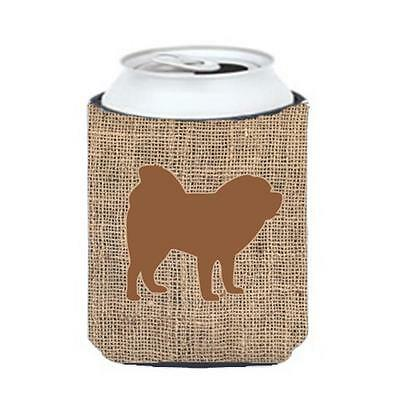 Carolines Treasures Chow Chow Burlap And Brown Can Or Bottle Hugger