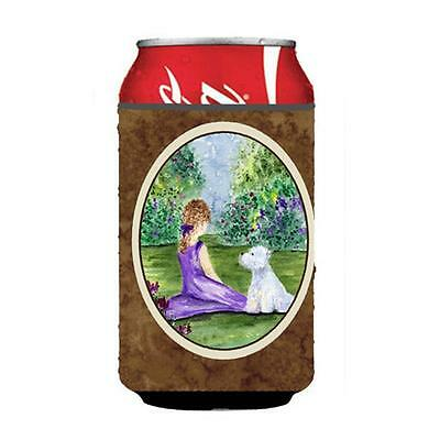 Carolines Treasures SS8246CC Westie Can or bottle sleeve Hugger 12 oz.