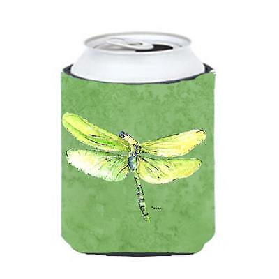 Carolines Treasures Dragonfly On Avacado Can Or bottle sleeve Hugger 12 oz.