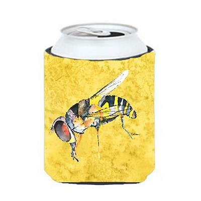 Carolines Treasures 8851CC Bee On Yellow Can Or bottle sleeve Hugger 12 oz.