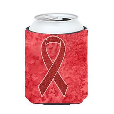 Carolines Treasures Red Ribbon for Aids Awareness Can or Bottle Hugger, 12 Oz. • AUD 45.90