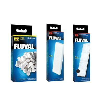 Fluval U3 Aquarium Filter Replacement Biomax, Filter Foam and Poly Carbon BUNDLE
