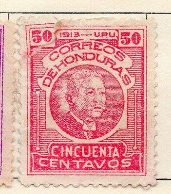 Honduras 1913 Early Issue Mint Hinged 50c. 154543