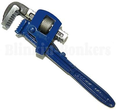 "8"" Drop Forge Standard Adjustable Stilson Plumber Monkey Pipe Wrench Spanner 23C"