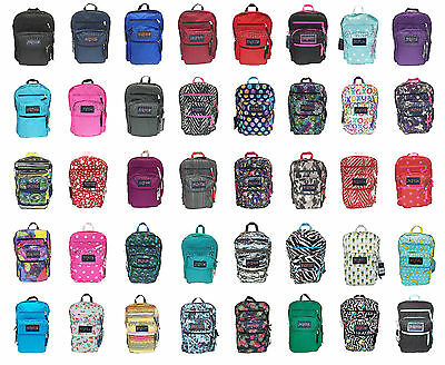 Jansport Big Student Backpack Original 100% Authentic School Book Bag New