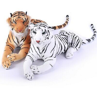 Large Giant Wild Animal Tiger Leopard Soft Plush Stuffed Cuddly Toy up to 150cm