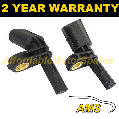 2X For Skoda Octavia Roomster Superb Front Left + Right Abs Wheel Speed Sensor