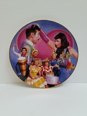 """I Love Lucy Hamilton Collection Plate """"Tennessee Ernie Visits"""" by Morgan 1551A"""