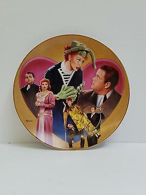 """I Love Lucy Hamilton Collection Plate """"Lucy Meets Orsan Wells"""" by Morgan 0069A"""