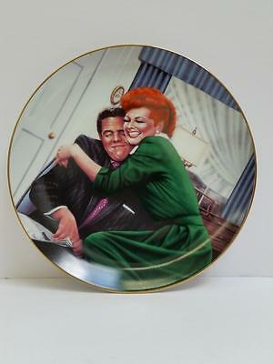 """I Love Lucy Hamilton Collection Plate """"The Big Squeeze"""" by Jim Kritz #1787A"""
