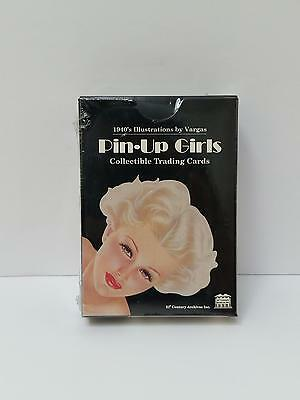 New Pin Up Girls 1940's Illustrations by Vargas Collectible Trading Cards Sealed
