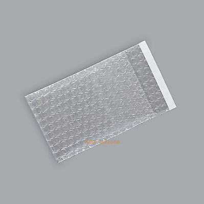"Wholesale 1000 PCS Clear Self Seal Bubble Bags Small Size 2.5"" x 3""_65 x 80+20mm"