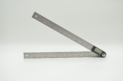 Digital Protractor Goniometer Angle Finder Miter Gauge Ruler 300mm 360° 12""