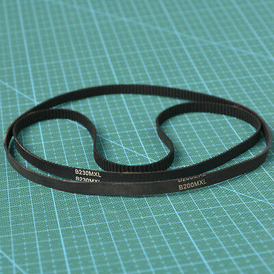 B200/B221/B230/B300/B350/B397 MXL Annular Loop Cogged Gear Rubber Timing Belt