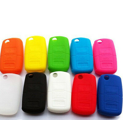 Colourful Silicone Rubber Case Key Fob Protector for MK4 MK5 Golf 3 Button