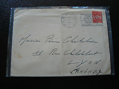 FRANCE - enveloppe 24/5/1955 (cy66) french