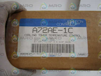 Johnson Controls Cooling Tower Temp. Control A72Ae-1C *new In Box*