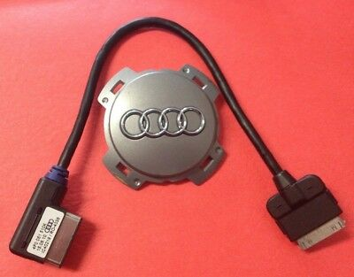 AMI AUDI Music Interface iPhone/iPod Cable 30-Pin MDI Adapter Charger 4F0051510K
