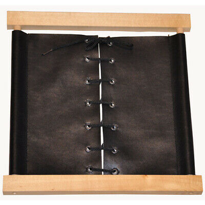 MONTESSORI Materials Practical Life WOODEN Dressing Frame LACING FAUX LEATHER