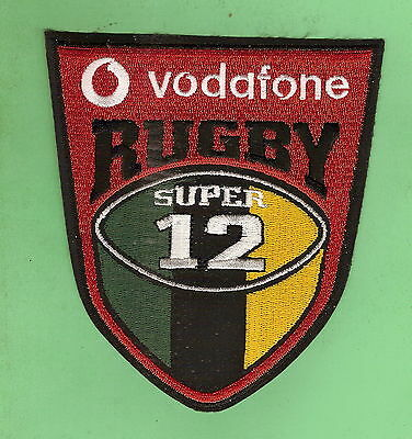 #D511.  RUGBY UNION  PATCH -  VODAFONE SUPER 12 (small)